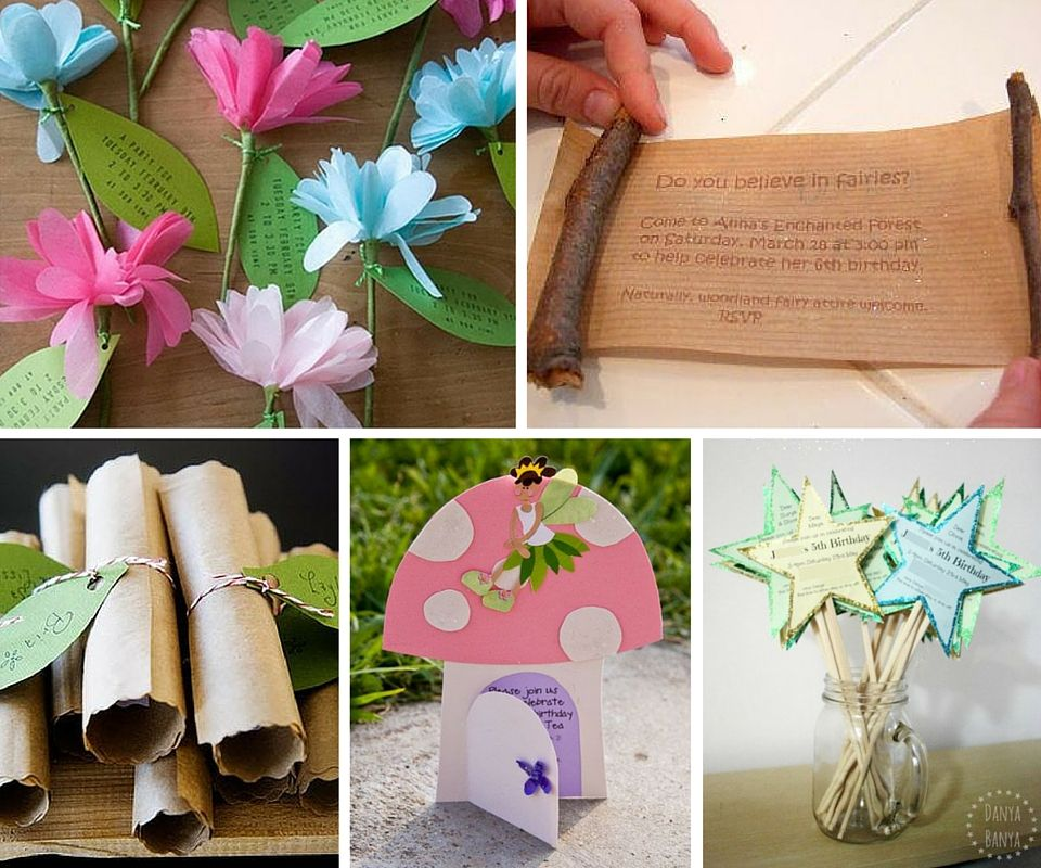 Fairy Party Invites | Dragon and Fairy Party | Pinterest | Fairy ...