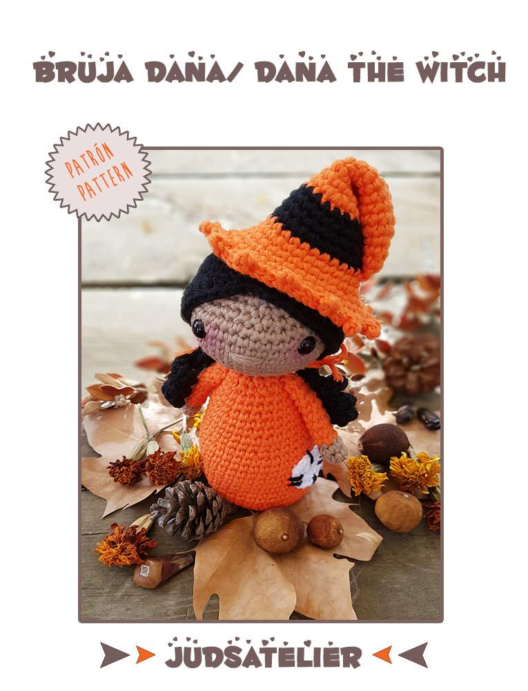 Pattern, crochet pattern, Halloween pattern, crochet witch pattern ...