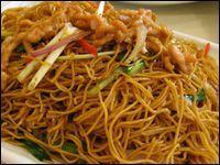 Recette de cuisine de l 39 ile maurice mine frit nouilles saut es riz cantonais pinterest - Cuisine mauricienne chinoise ...