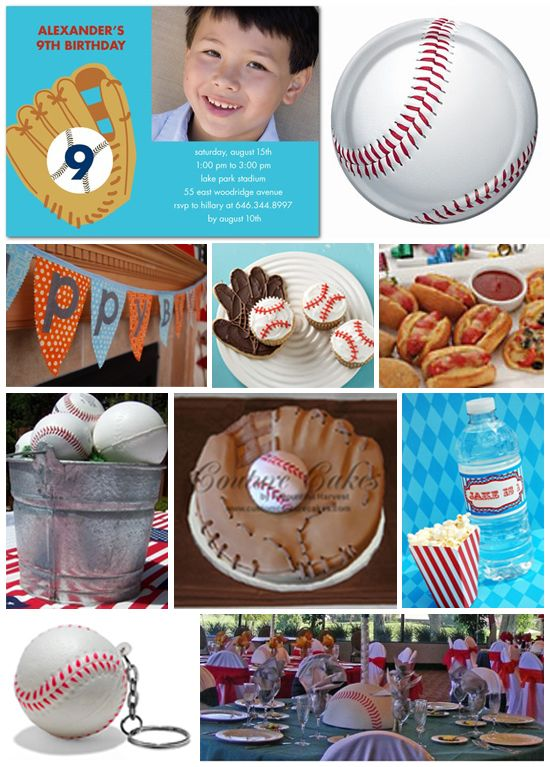 like the hot dogs, plates, cupcakes... my love for all things baseball makes me want this for a birthday party-- FOR ME!!