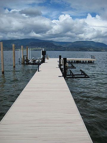 Dock Decking- WPC composite decking