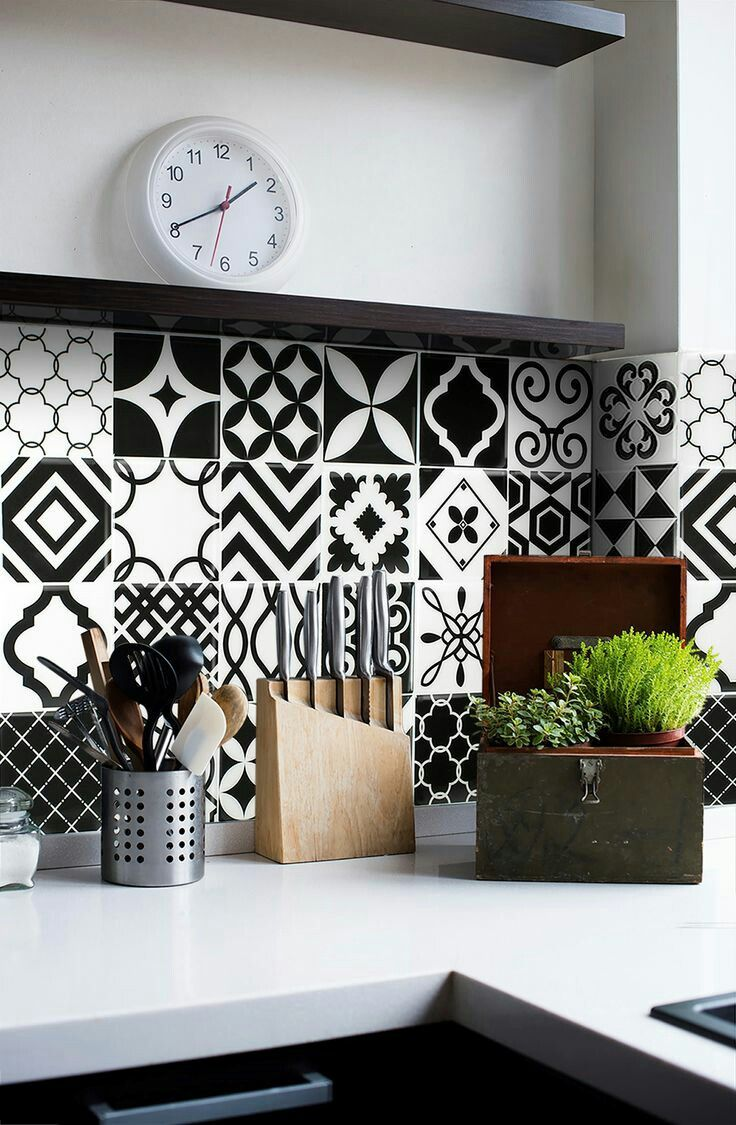 Carrelage Mural Noir Et Blanc Cuisine Épinglé par geometrix int sur tiles | carrelage mural