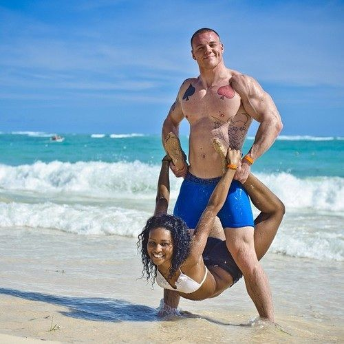 Interracial beach