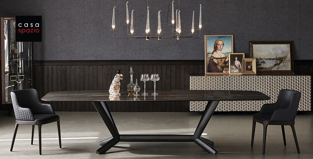 The Planer Wood Dining Room Table From Italian Furniture Brand