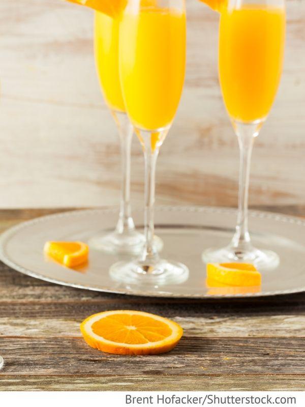Orangenchampagner Apelsinowij krjuschon s schampanskim ...