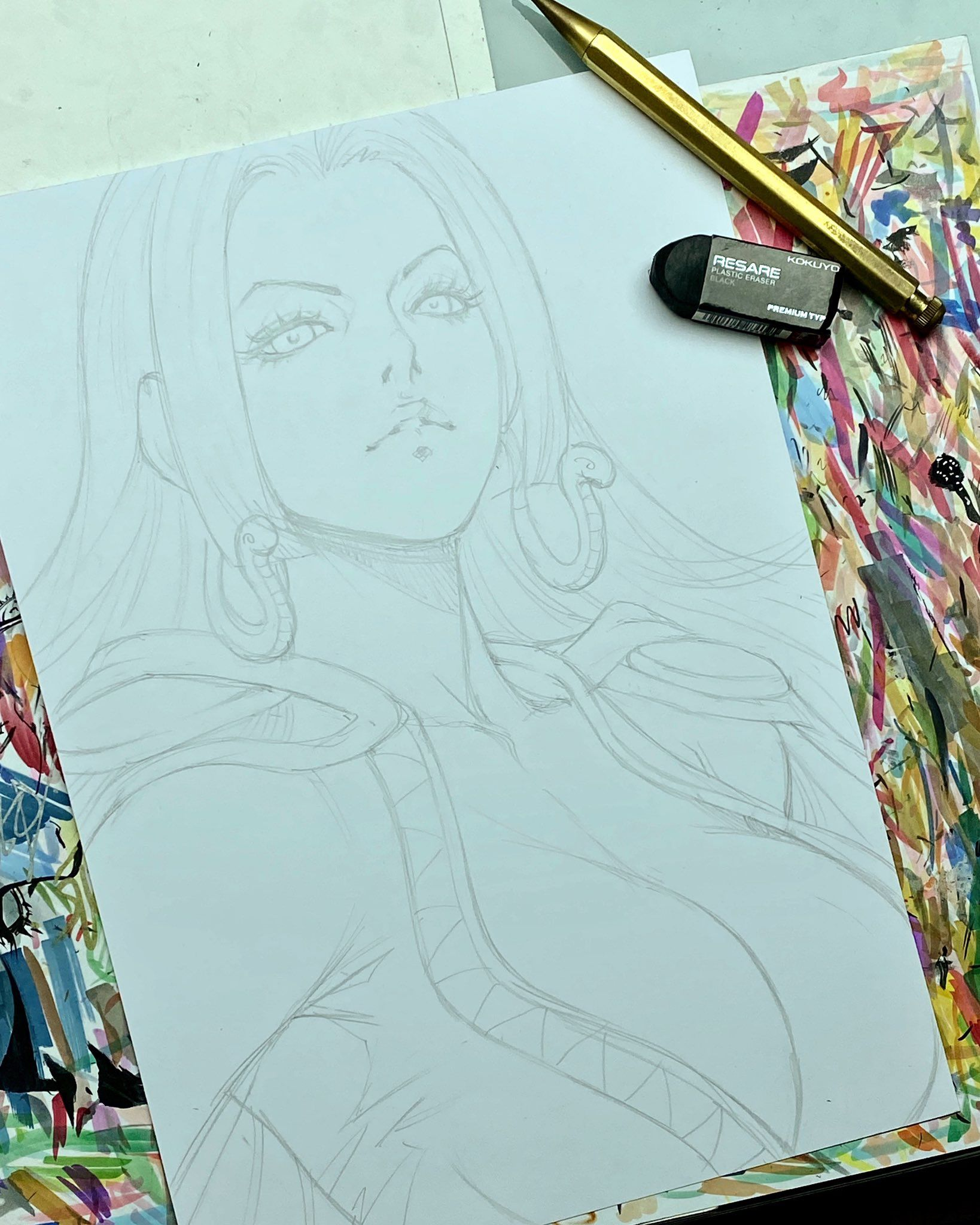 Pin By Edrian Perez On Artgerm One Piece Pictures Guy Drawing Drawings