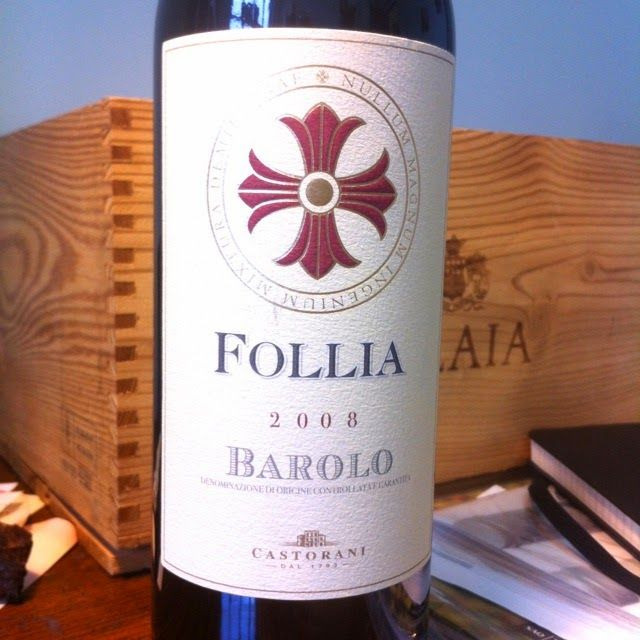 HIPPOVINO: #Lesvinsdu20 Dégustation du 20 mars 2014 - Follìa, Barolo 2008 -vin rouge - Code SAQ 10966845