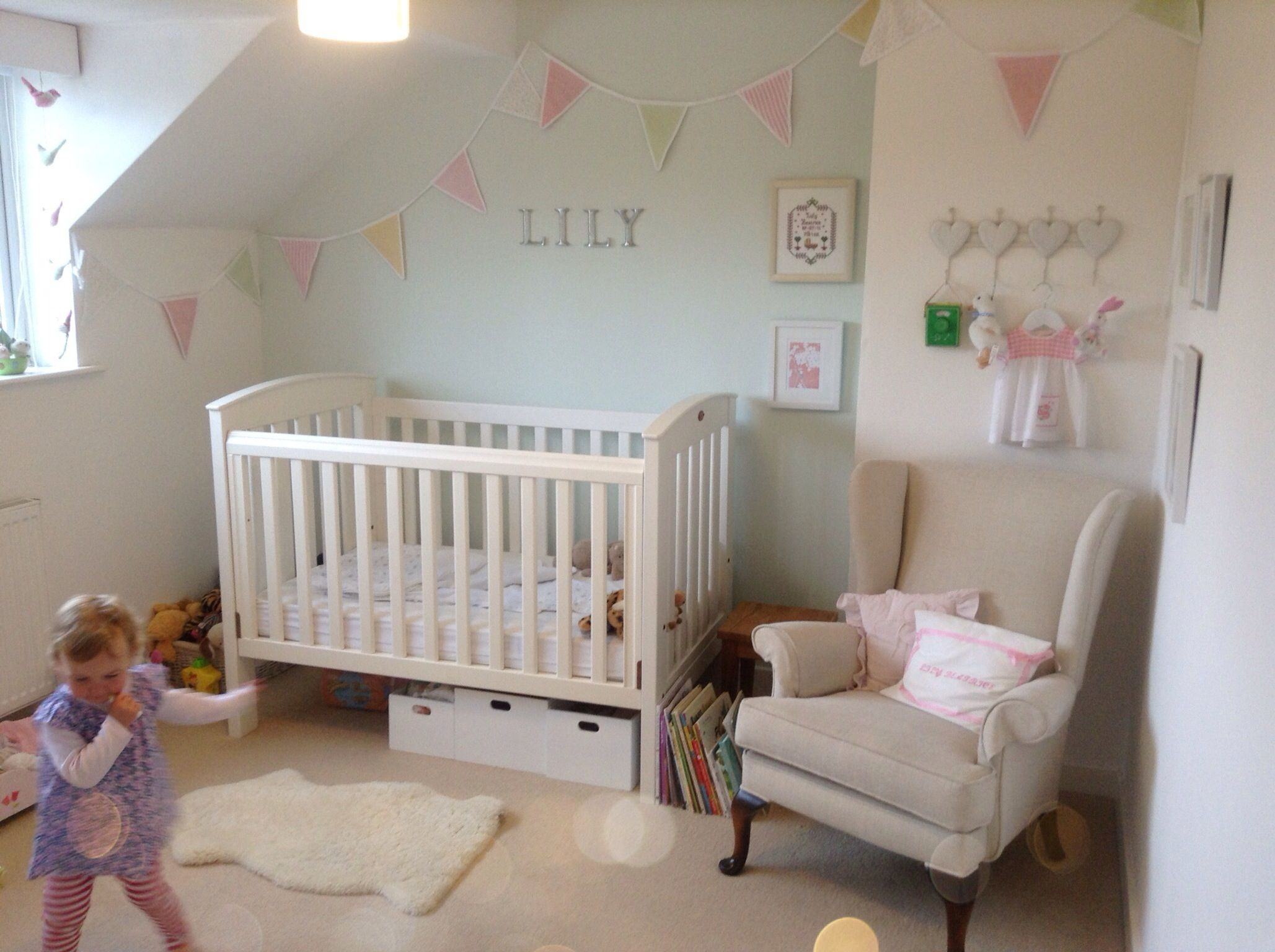 New Bedroom Lilys New Bedroom Eau De Nil Bunting Lily Living