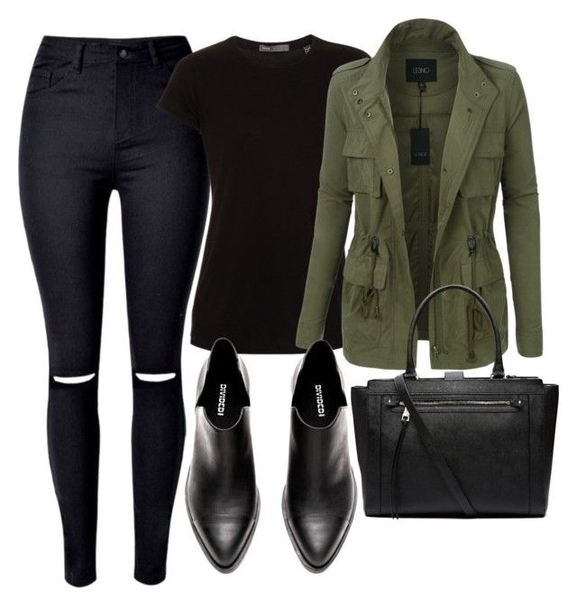 """Untitled #388"" by lionessrose ❤ liked on Polyvore featuring Vince, LE3NO and Witchery"
