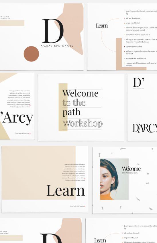 Magazine Layouts Template Graphic Design