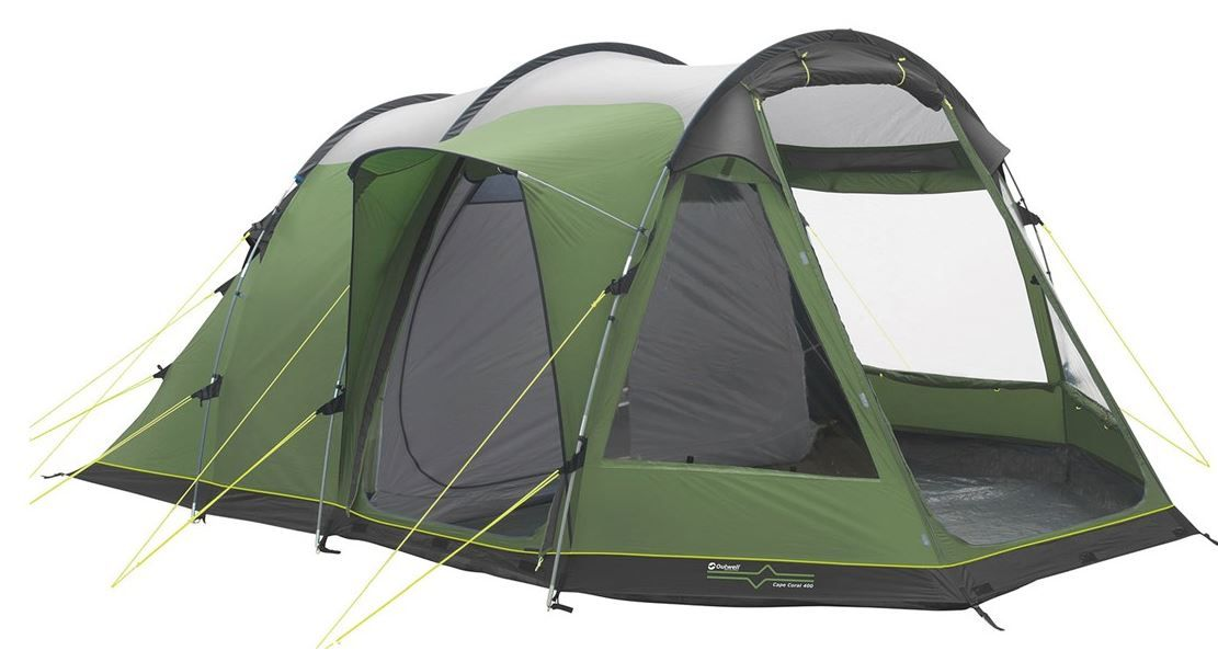 Find the best family tent for your family c&ing holiday. 4 - 10 man tents from the biggest c&ing brands including Hi Gear Outwell and Vango.  sc 1 st  Pinterest & ? OUTWELL Cape Coral 400 Family Tent £199 | Tents for Families ...