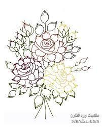 نتيجة بحث الصور عن رسومات التطريز بشرائط الساتان Lotus Flower Tattoo Flower Tattoo Floral
