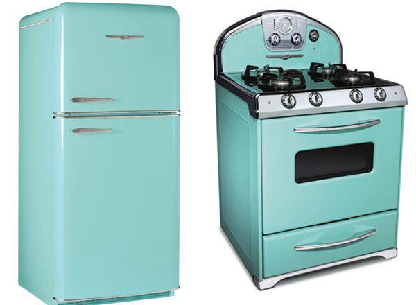 Retro Inspired Appliances Retro Kitchen Retro Refrigerator