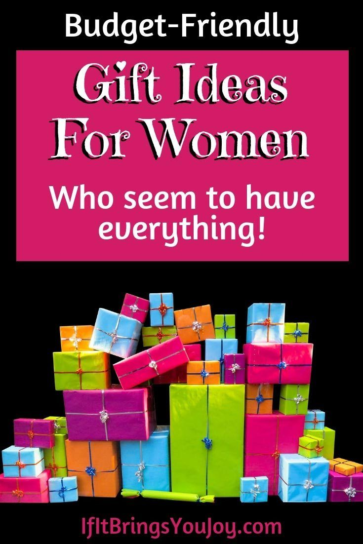 75 gift ideas for women who have everything birthday