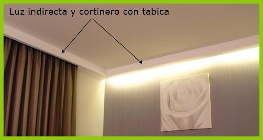 informacin de la luz indirecta como elemento decorativo para falsos techos y paredes instalacin y