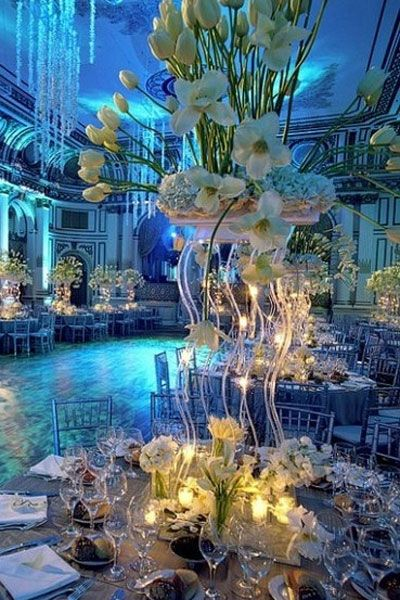 Tall Centerpieces High Centerpieces Wedding Planning Ideas
