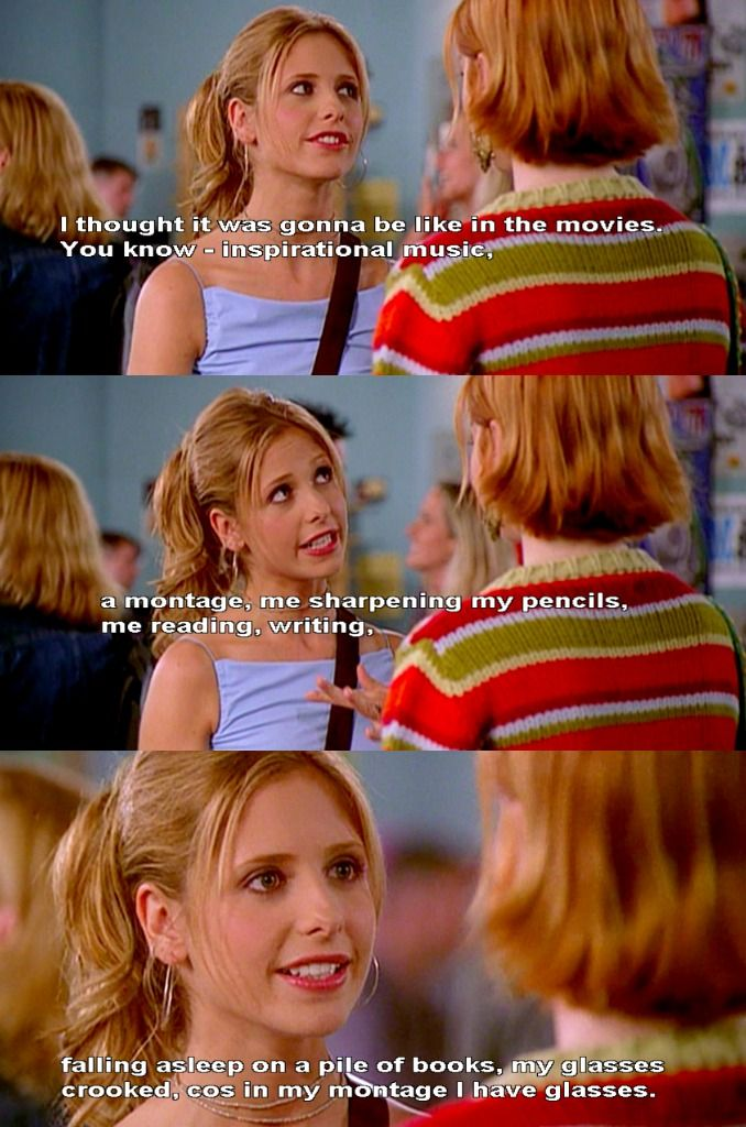 Buffy on college.