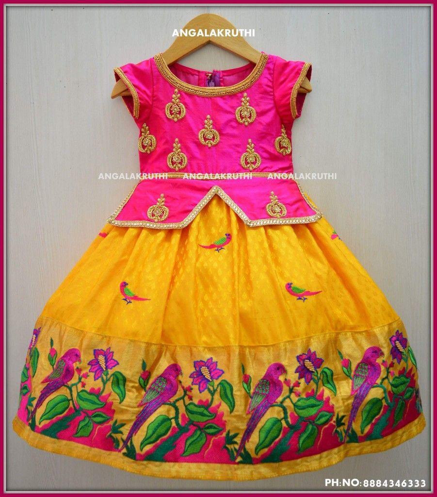 cb98a251431 Kids Custom designs by Angalakruthi boutique Bangalore Watsapp:8884346333