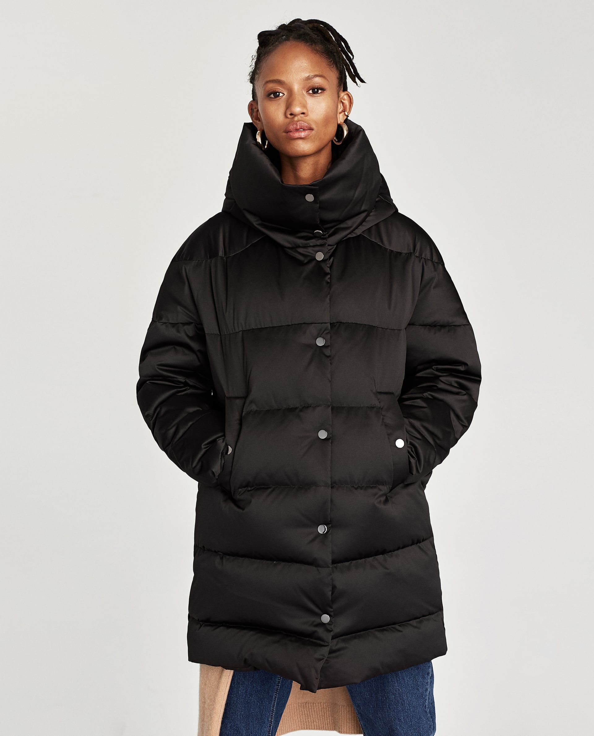 60d49f3d HIGH NECK PUFFER COAT - Available in more colours | Clothes | Puffer ...