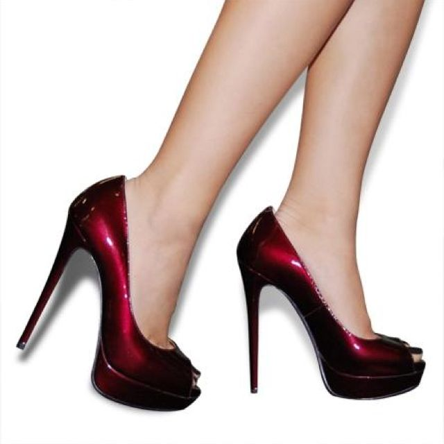 Miss Amazon by PeepToe. Stunning ruby red colour! http://www.peeptoeshoes.com.au/shop/product/2619/miss-amazon