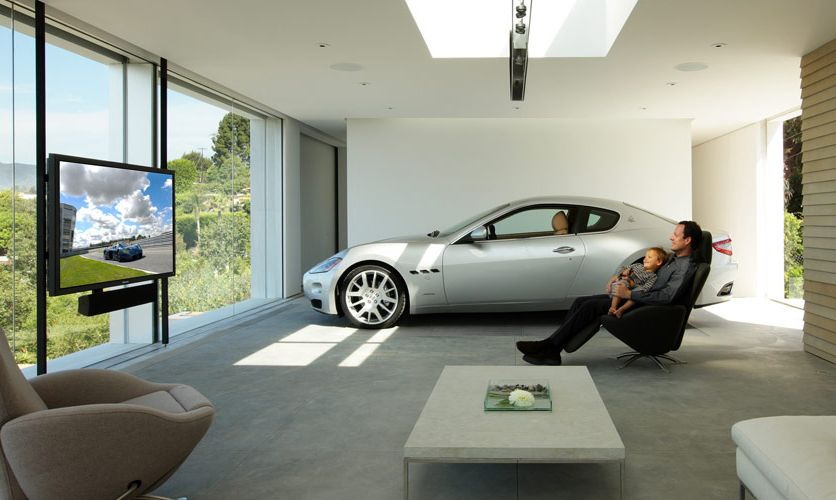 car in living room take your car with you to your living room architecture 13752