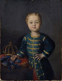 Ivan VI Antonovich of Russia was proclaimed Emperor of Russia in 1740, as an infant, although he never actually reigned. Within less than a year, he was overthrown by the Empress Elizabeth of Russia, Peter I's daughter. Ivan spent the rest of his life as a prisoner and was killed by his guards during an attempt made to free him.