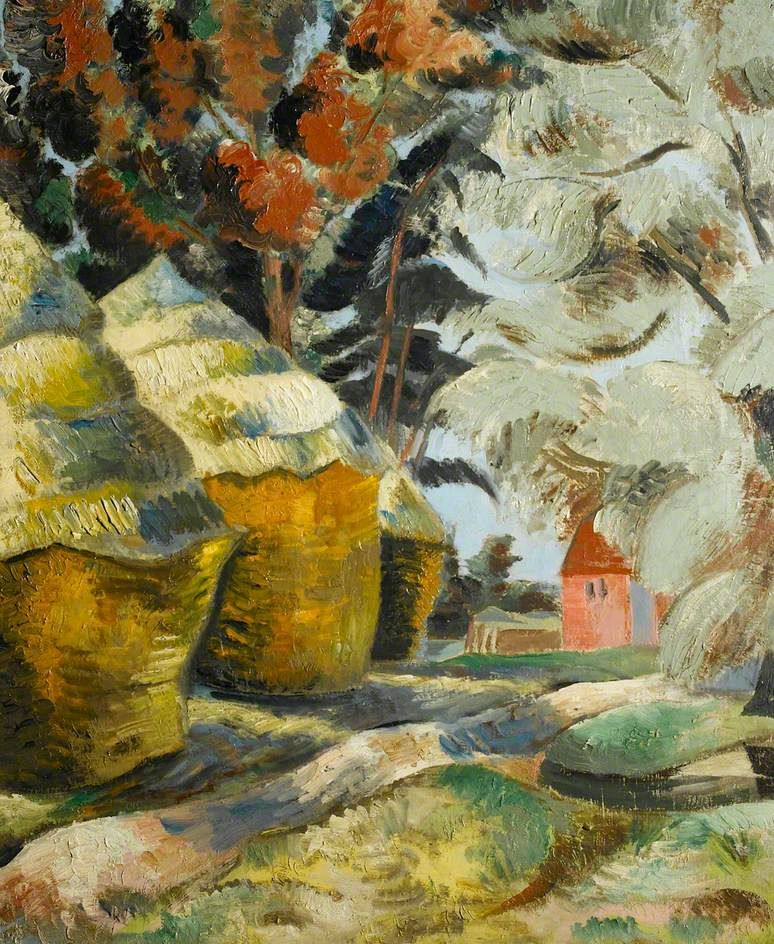 Paul Nash - The Stackyard.