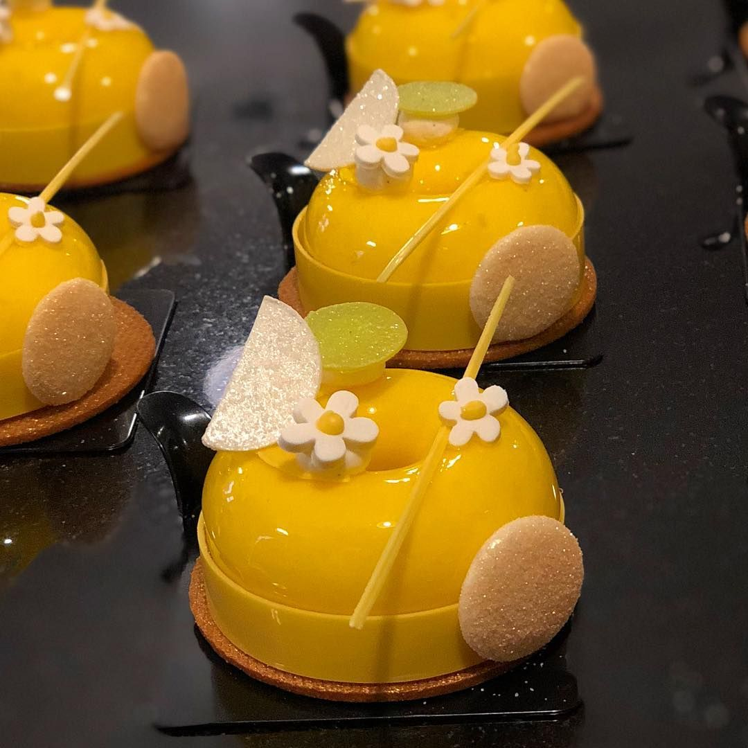 Poland Cake: Lemon Petit Gateau In Poland
