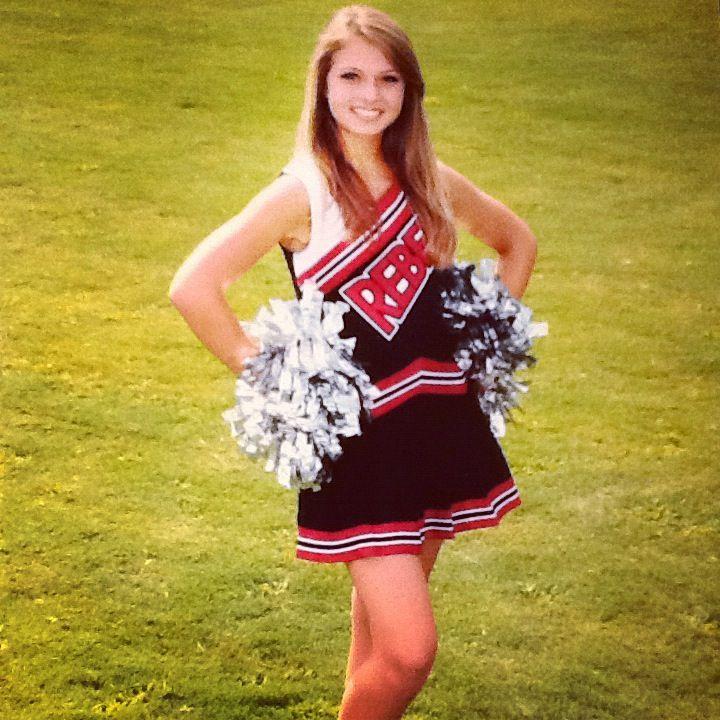 Old uniforms but school cheer pictures !