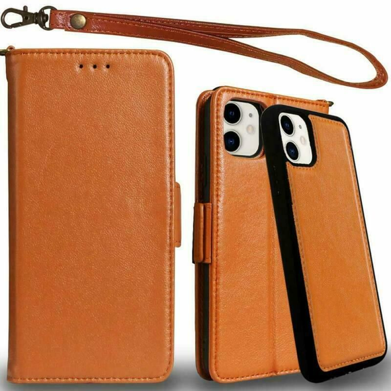 Details about genuine leather iphone 11 pro case wallet