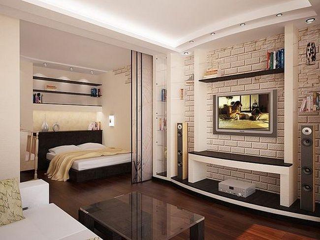 50+ Apartment One Room Layout_35 Interior Design Ideas Pinterest