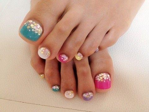 U as de los pies decoraci n 2013 piies pinterest for Decoracion unas en pies