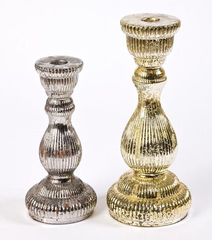 Ref: 86545/0 Castiçal bronze Ref: 86545 Preço: 8,60€ Dim: 9,5×21  Castiçal grande dourado Ref: 86540 Preço: 10,30€ Dim: 11×29