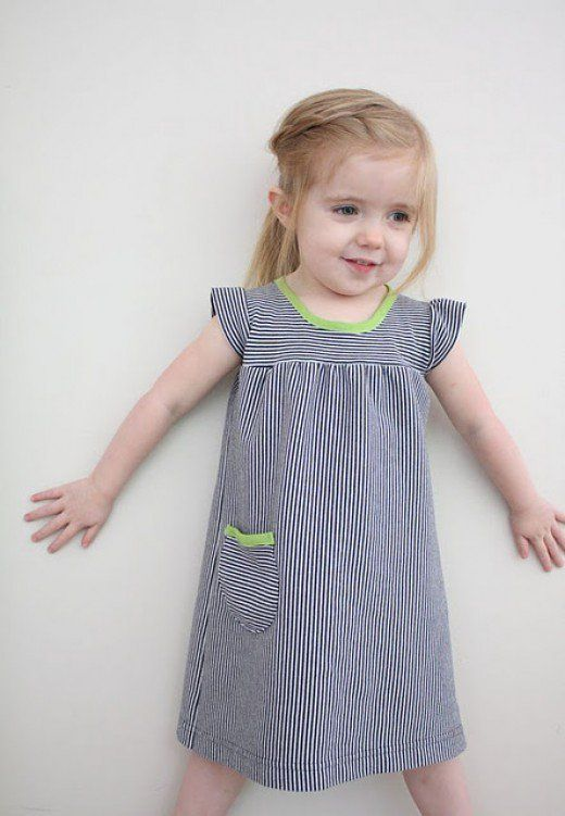 Top 10 Free Sewing Patterns and Tutorials for Baby Dresses | Sewing ...