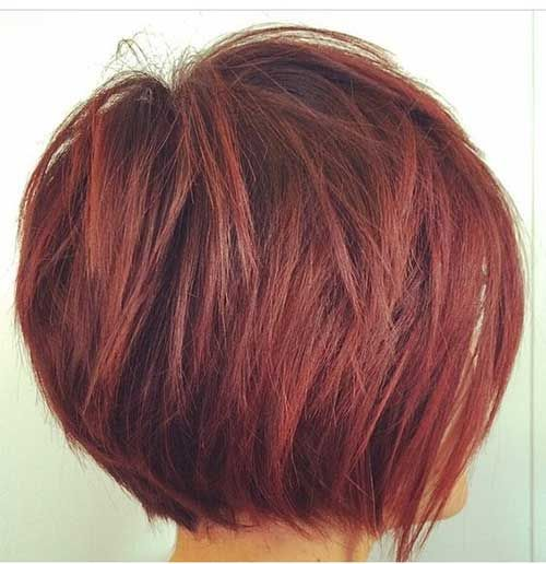 Stacked Bob Hairstyles stacked bob hairstyles 2015 Really Trending Short Stacked Bob Ideas