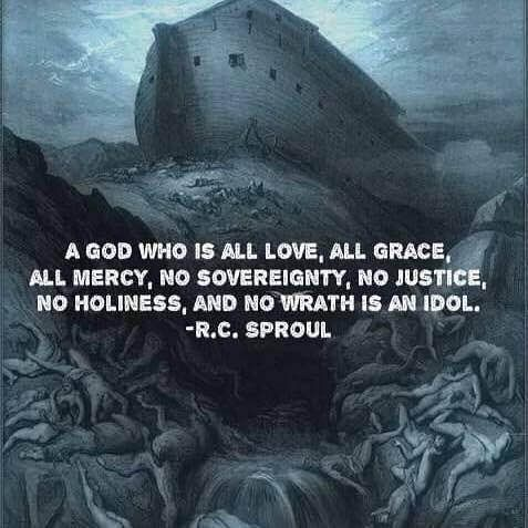 A #god who is all #love, all #grace, #all mercy, no #sovereignty, no #justice, no #holiness, no #wrath is an #idol. #RCSproul #reformedtheology #OneTrueGod #attributesofgod #coffeeandtheology by coffeeandtheology http://ift.tt/1pDFLtj