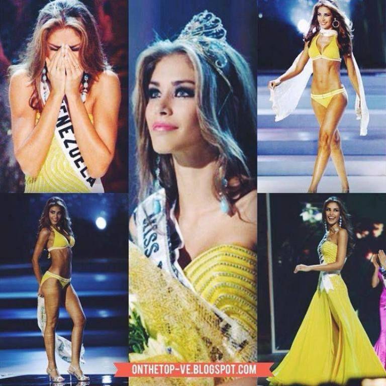 Collage de Miss Venezuela - Dayana Mendoza en Miss Universe 2008 ...