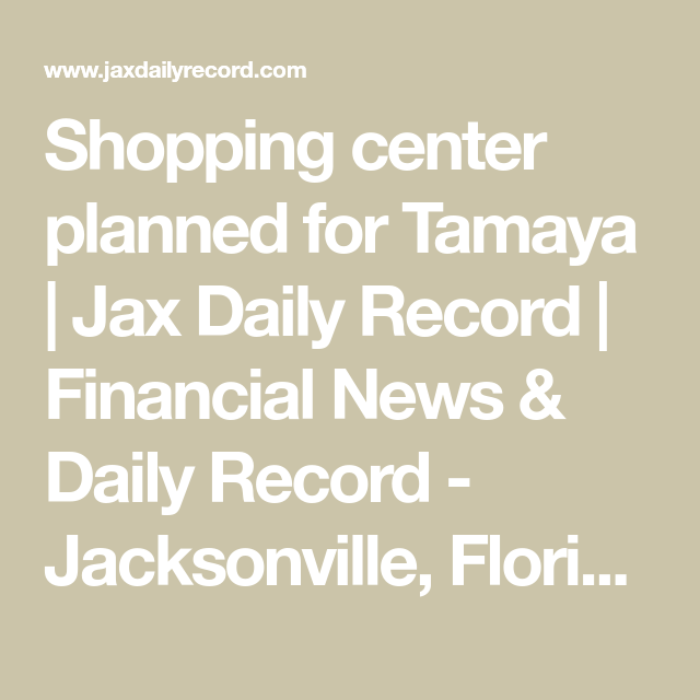 Town Center Jacksonville Fl: MERRILL Road Car Wash..Financial News & Daily Record