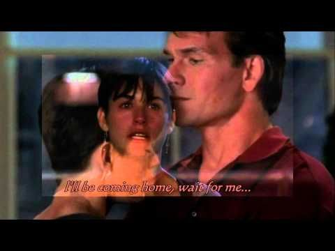 Movie: Ghost with Patrick Swayze and Demi Moore Song ...