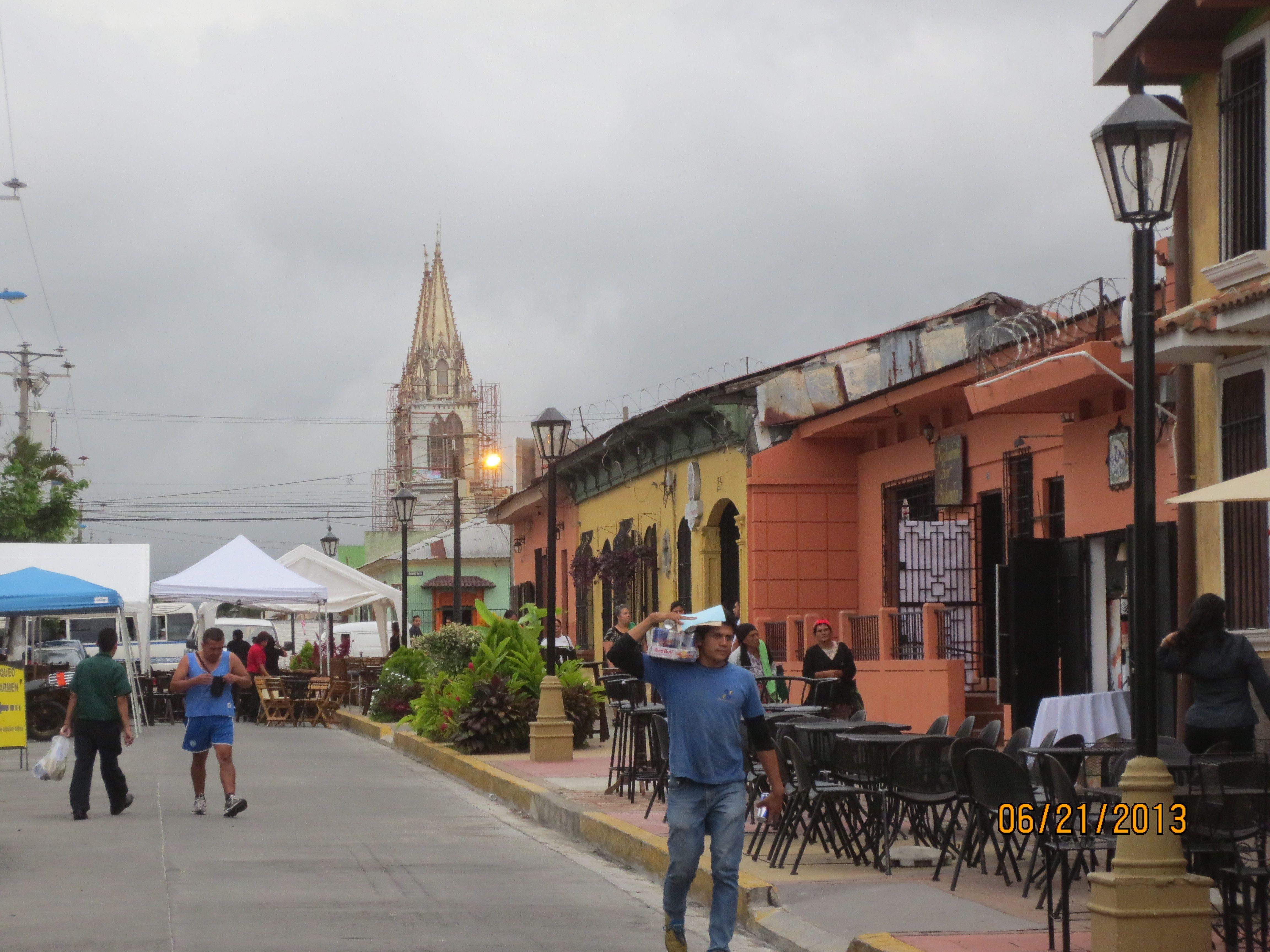 Paseo El Carmen, Santa Tecla, El Salv. | Places We've been to