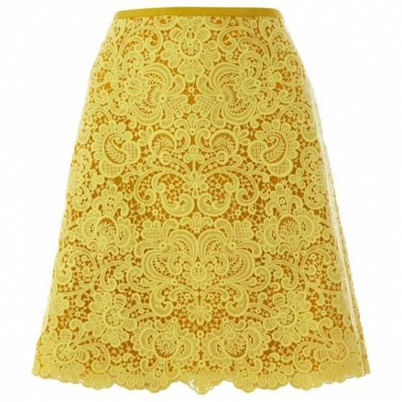 Bqueen Beautiful Cotton Lace Skirt K429Y