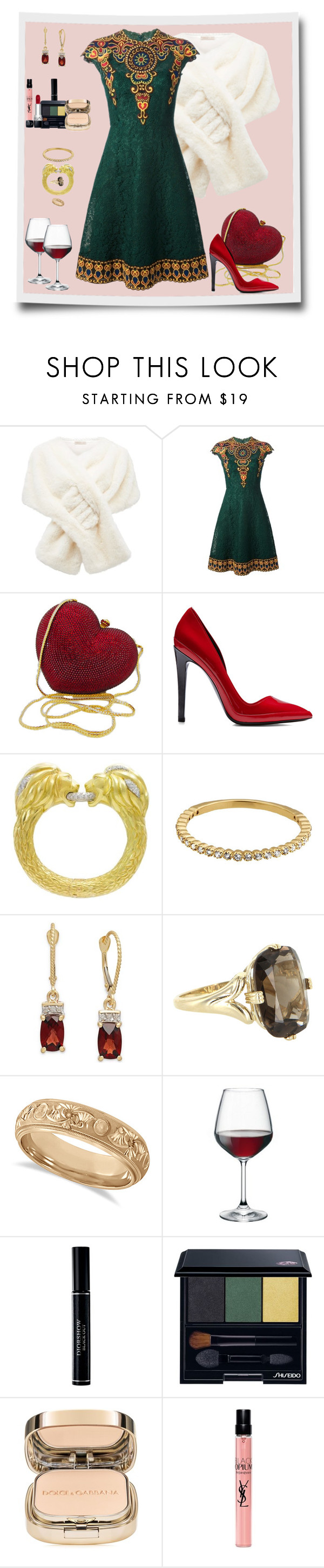"""Dinner & Drinks, My Darling"" by winscotthk ❤ liked on Polyvore featuring Forever New, Valentino, Anthony Vaccarello, Tiffany & Co., Vintage, Allurez, Bormioli Rocco, Christian Dior, Shiseido and Dolce&Gabbana"