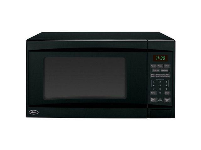 Oster 1 1 Cu Ft 1100 Watt Microwave Oster Ogd21102 Black Countertop Microwave 1 1 Cu Ft 1100 Watts Digital Microwave Microwave Oven Microwave
