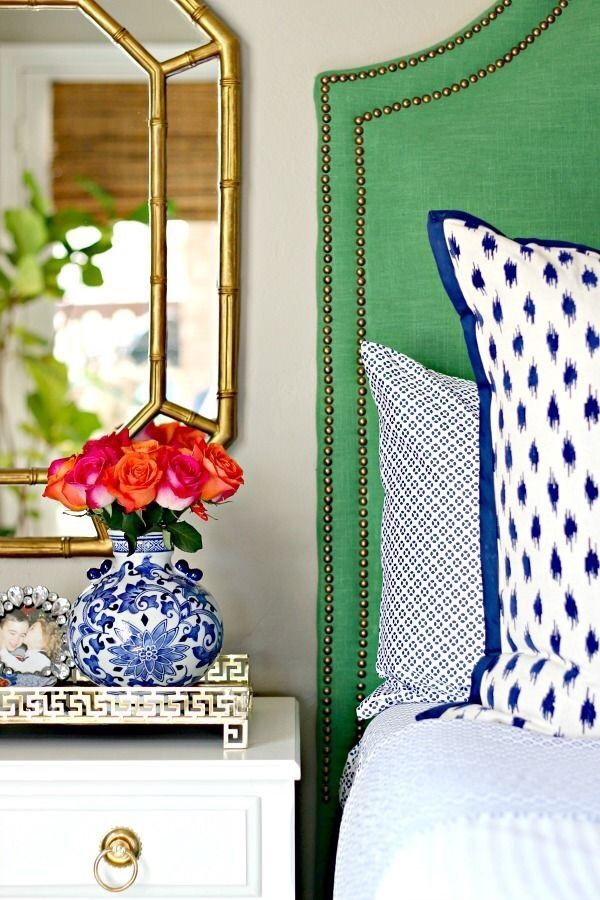 Blue And Green Pink Master Bedroom Bedroom Green Preppy Bedroom