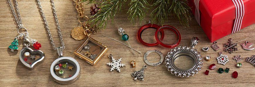Holiday Themed Charm Lockets