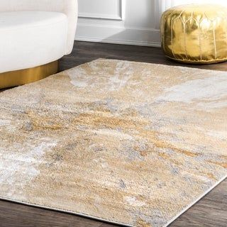 Carbon Loft Brendt Contemporary Modern Abstract Area Rug 8 10 X 12 Silver Area Rugs Rustic Area Rugs Rugs