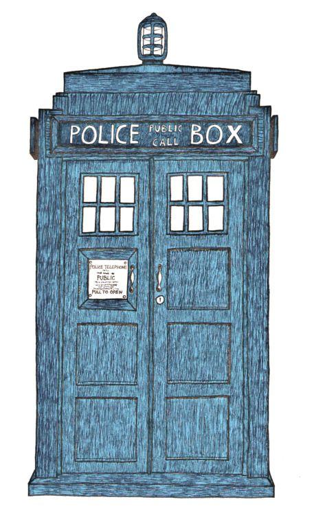 TARDIS - http://charisteapot.tumblr.com/post/116544339467/tardis-charisteapot-doctor-who-fanart-this-is