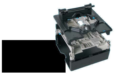 Thiết kế thân máy chống va đập, chống độ ẩm, độ bền cao của máy hàn cáp quang trung quốc