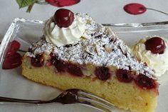 Saftiger Kirsch Schmand Kuchen In 2019 Torten Kuchen Kirsch