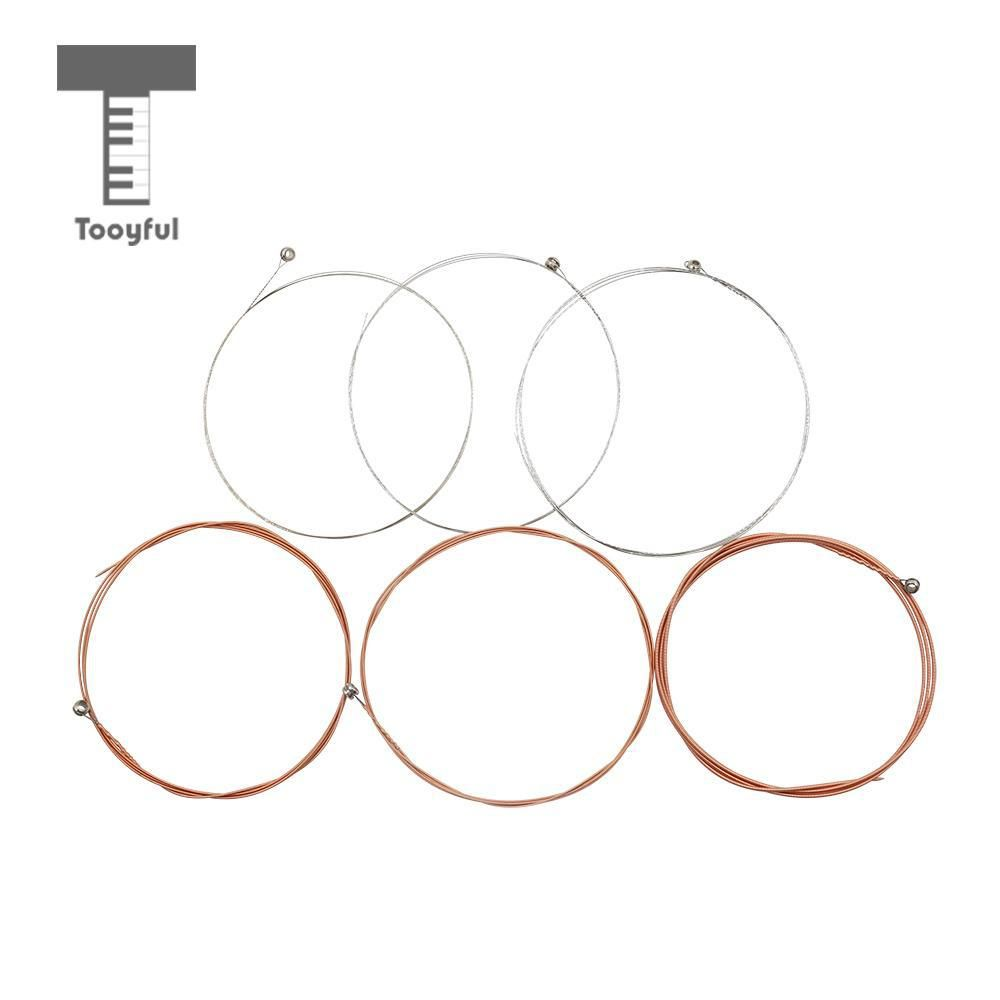 Tooyful 6 Pieces Phosphor Bronze Alloy Guitar Strings Set For Parts Of Acoustic Diagram Musical Instrument Accessory Yesterdays Price Us 401 351 Eur
